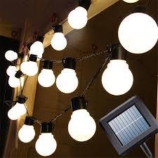 Solar String Outdoor Lights by Popular Solar String Outdoor Lights Buy Cheap Solar String Outdoor