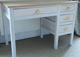 Whitewash Desk Desk U2013 Whitewash With Oak Top Wilber U0026 Co Builders North