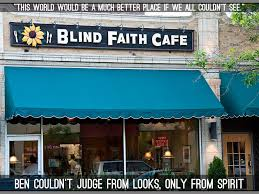 Blind Faith Restaurant The Boy Who Could See With His Ears By Angela Simpson