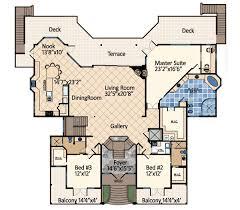 dream house floor plans ocean dream house plan 31809dn architectural designs house plans