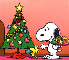 Snoopy Christmas Office Decorations by Snoopy Christmas Clipart Wallpaper