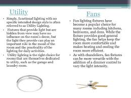 Types Of Light Fixtures Types Of Lighting Their Uses Availability