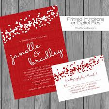 wedding invites cost red confetti wedding invitation engagement party invite