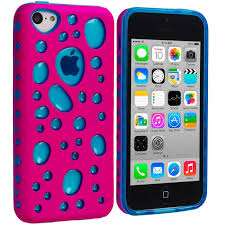 light blue iphone 5c case apple iphone 5c pink baby blue hybrid bubble hard soft skin