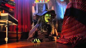 ivana animated halloween rising witch grandin road youtube