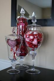 47 best family room ideas images on pinterest family room wall invest in some nice apothecary jars then decorate for every season holiday an example of valentines day decorations