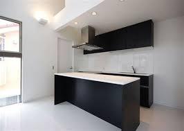 cuisine moderne en l cuisine moderne et noir 1 r233ussir lam233nagement et la