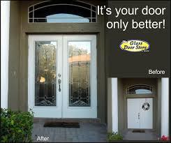 Exterior Glass Door Inserts Entry Doors Glass Front Doors Exterior Glass Doors