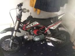 demon x dxr 125 frame with stomp 125 engine pit bike in harlow