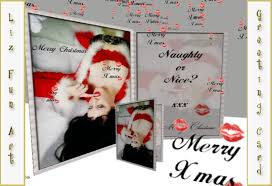 second life marketplace christmas card naughty or nice with
