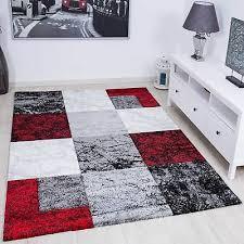 tappeto moderno rosso tappeto moderno design nero rosso grigio marmorizzato pietra