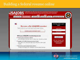 Apply Resume Online by Mastering The Federal Application Process Ppt Download
