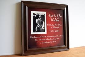 40th wedding anniversary gifts for parents beautiful 40th wedding anniversary gift ideas this year wedding