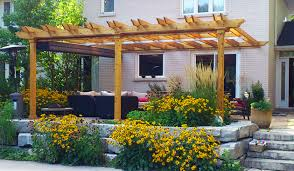 How To Build A Pergola Attached To House by Review Free Standing Pergola Next To House Garden Landscape
