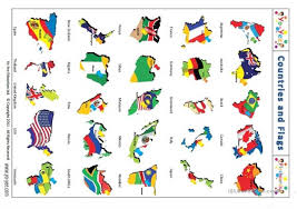 Do Continents Have Flags 18 Free Esl Continents Worksheets