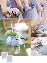 10 new color combos you u0027ll love dusty blue weddings blue