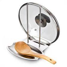 repose cuill e cuisine repose cuillère et couvercle de casserole en acier inoxydable