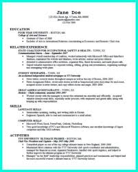 Resume Sample For College by Example Of Resume For College Application