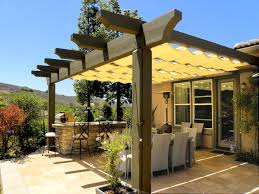 Patio Canopies And Awnings by The Artistic Way To Do Shade Alpha Canvas U0026 Awning