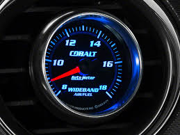 wide band auto meter mustang cobalt wideband air fuel ratio analog