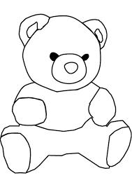 draw teddy bear coloring color luna
