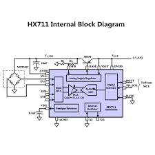 hx711 24bit ad module 1kg aluminum alloy scale weighing sensor
