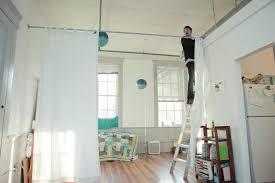Diy Room Divider Curtain by Curtain Room Dividers Diy 81 Trendy Interior Or Diy Room Divider