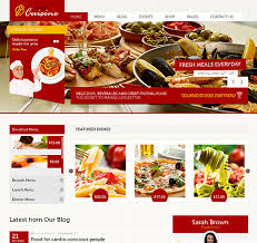 kitchen cuisine cuisine restaurants café html template