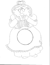 there was an old lady coloring page eson me