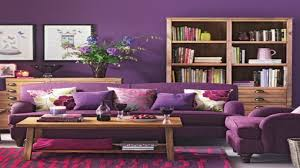 purple living room walls chrome arc floor lamp polyester window
