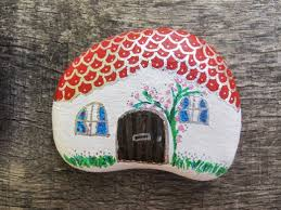 How To Decorate A Stone by Painting On Stones Is A Craft That Rocks Feltmagnet