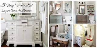 inspire me monday five bright and beautiful bathrooms
