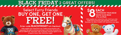 black friday news 2017 build a bear black friday 2017 ads deals and sales