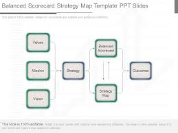 strategy map template strategy map powerpoint templates slides and graphics