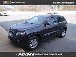 midnight blue jeep 2016 used jeep grand cherokee rwd 4dr laredo at landers ford