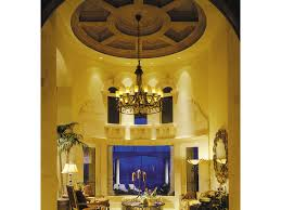 Sater Mediterranean Blueprint Floor Plan Two Story Luxury House Tuscan