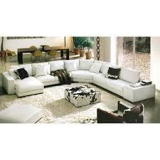 canapé 10 places pas cher canapé d angle panoramique cuir blanc dreams achat vente