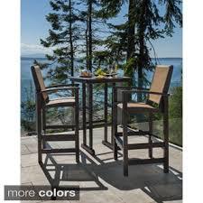 High Bistro Table Set Outdoor 3 Outdoor Bar Height Bistro Set Olzg Cnxconsortium Org