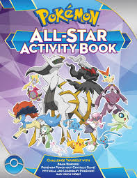 pokémon all star activity book book by lawrence neves official