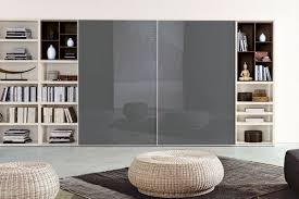 Bookcases With Sliding Glass Doors Corner Bookcase For The Living Room 556 Napol Furniture