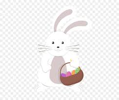 rabbit material easter bunny rabbit christmas easter bunny vector material png