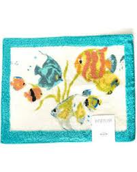Fish Bath Rug New Shopping Special Rainbow Fish Bath Rug 20x30 Multi