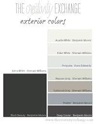 Room Color Palette Generator Exterior Mediterranean Color Palette Exterior House Color Palette