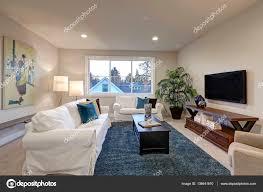 Deko Blau Interieur Idee Wohnung Design Wohnzimmer Blau Weiß Grau Inspirierende Bilder Von