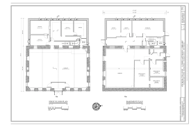 file basement and first floor plans storer college lewis