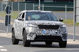 range rover velar svr 2018 range rover velar svr spied being thrashed on the nurburgring