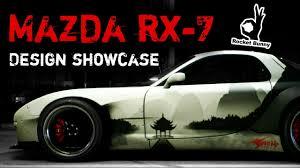 mazda rx 7 oriental design customization showcase nfs 2015