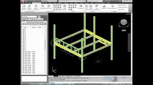 autocad structural detailing steel fabrication drawings wmv