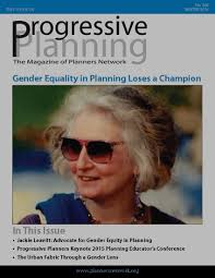 winter 2016 gender equality in planning planners network