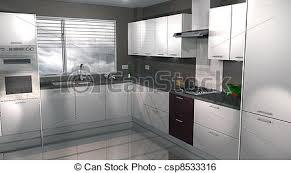 simulateur cuisine 3d illustration de moderne conception 3d cuisine 3d moderne avec